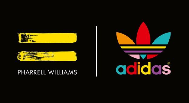 A collaboration between adidas Originals and Pharrell