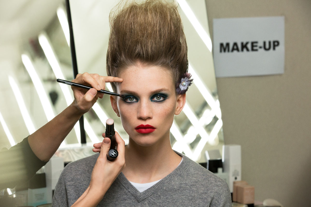 CHANEL Spring-Summer 2019 Haute Couture – Beauty look